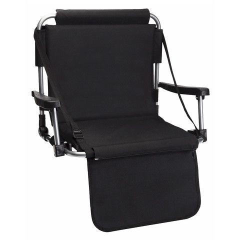 Black Stadium Chair By Barton Outdoors™ - cheapbuynsave.com