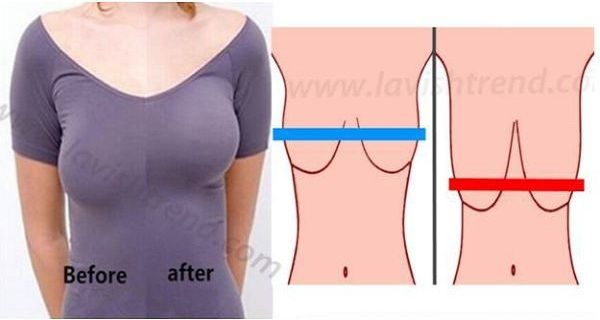 5 Effective Home Remedies For Lifting Your Breasts In A Natural Way