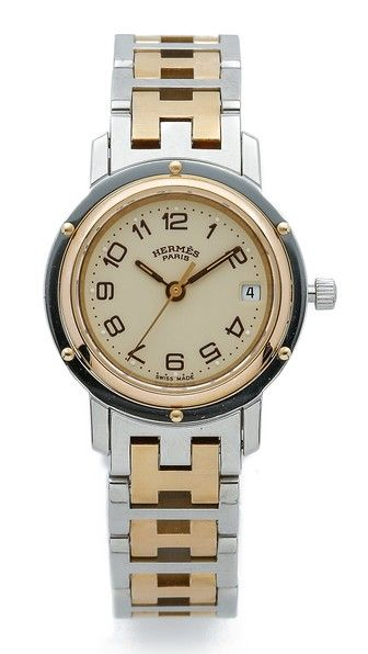 What Goes Around Comes Around Vintage Hermes Clipper PM Watch