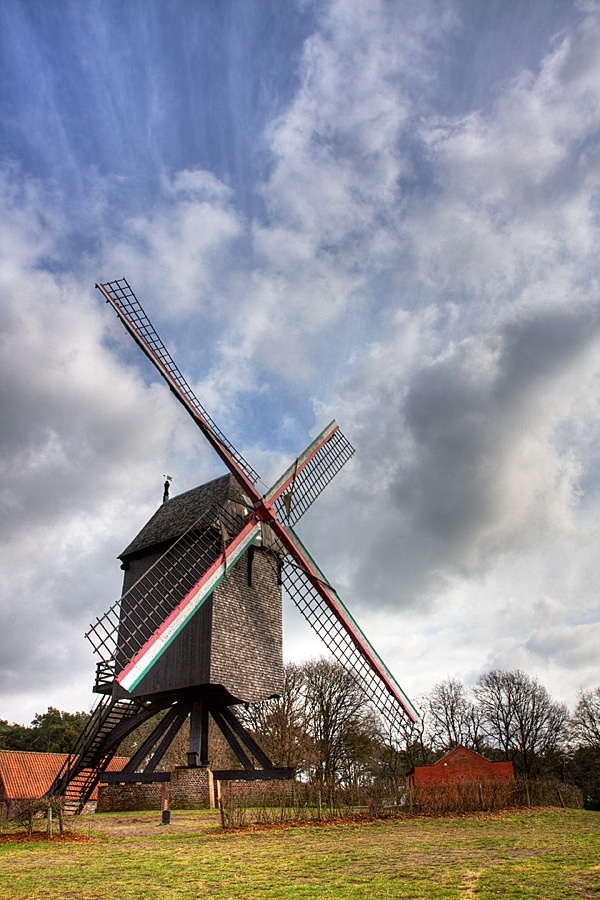Molen in Keerbergen, The Netherlands