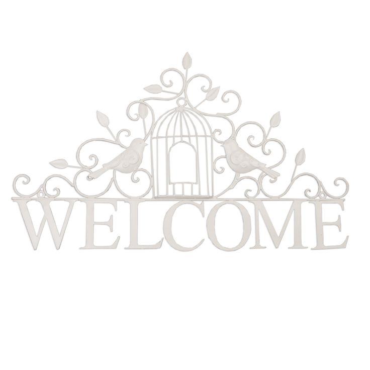 #decorazione #welcome #bianco