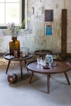 Vintage Stijl Studio | Bijzettafel Arabica | #Eijerkamp #wooninspiratie #woontrends #interieur