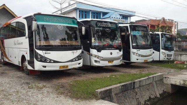 Separuh Bus Mudik Dikandangkan