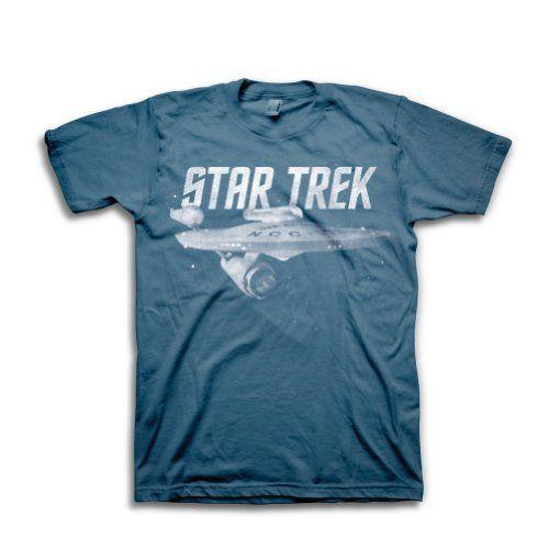 Star Trek USS Enterprise NCC-1701 T-Shirt - Old School Cool - http://geekarmory.com/star-trek-uss-enterprise-ncc-1701-t-shirt/
