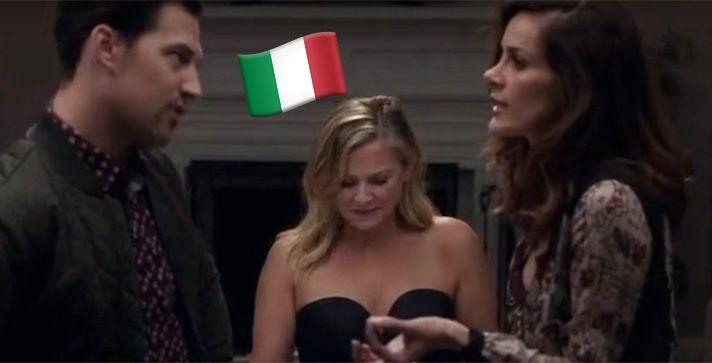 GREY'S ANATOMY: SCENA COMPLETAMENTE IN ITALIANO PER DUE ATTORI DEL CAST