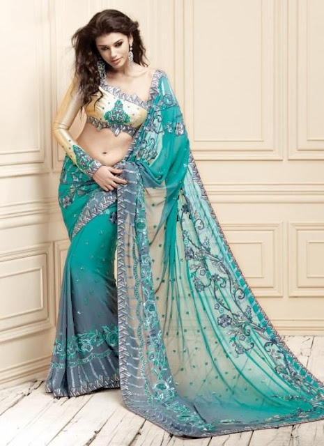 The Stunning Indian Sari's Collections