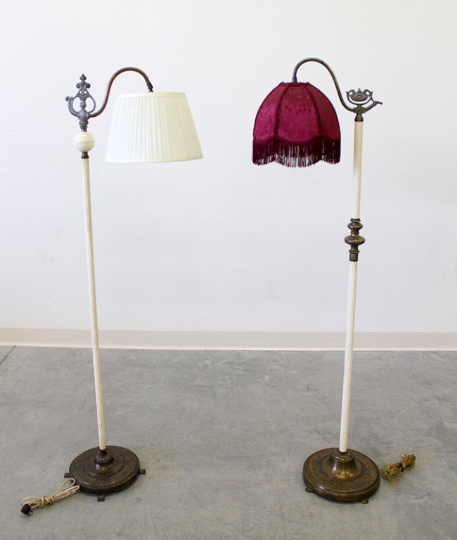 ANTIQUE FLOOR LAMPS REMBRANDT : Lot 207