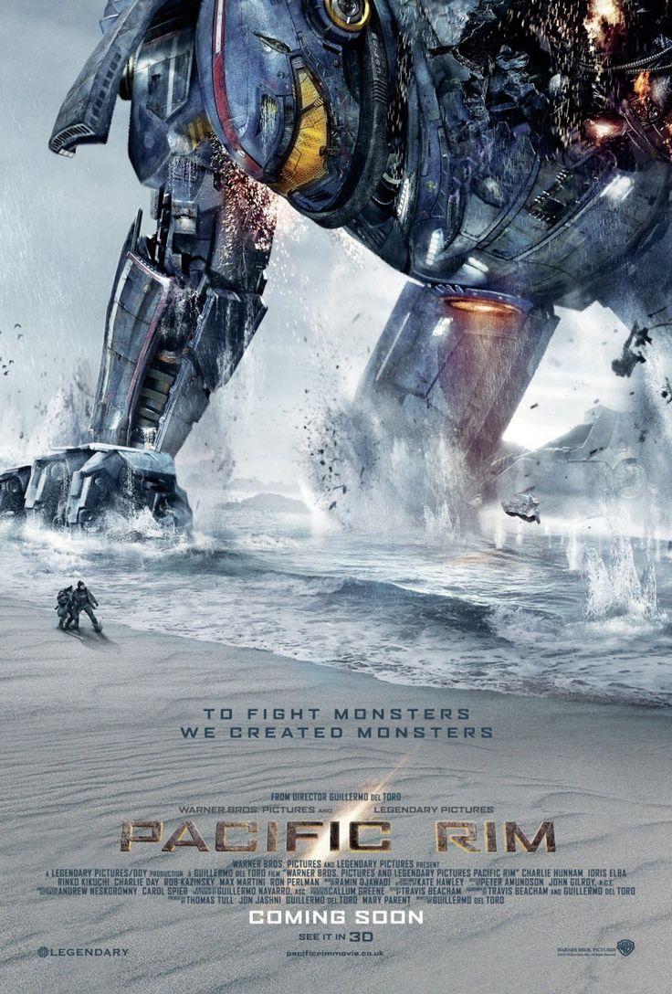 Постер к фильму «Pacific Rim / Тихоокеанский рубеж (2013)» смотреть онлайн