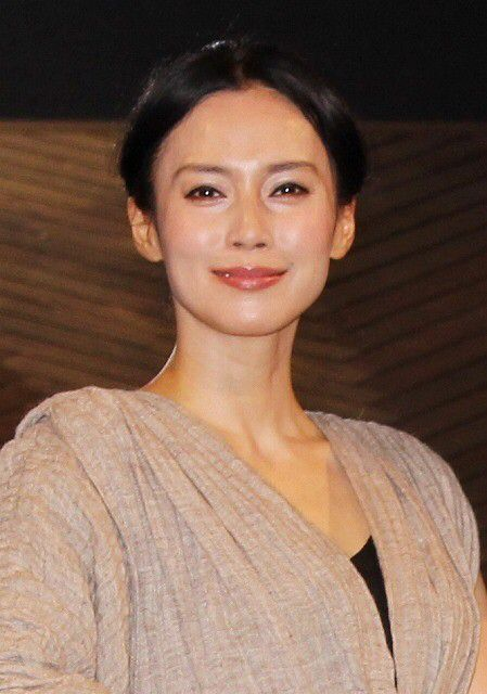 中谷美紀さんのポートレート