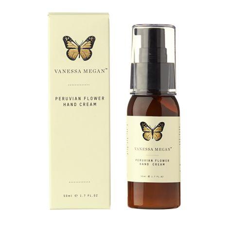 Vanessa Megan - Peruvian certified Organic Hand & Body Cream 50mL