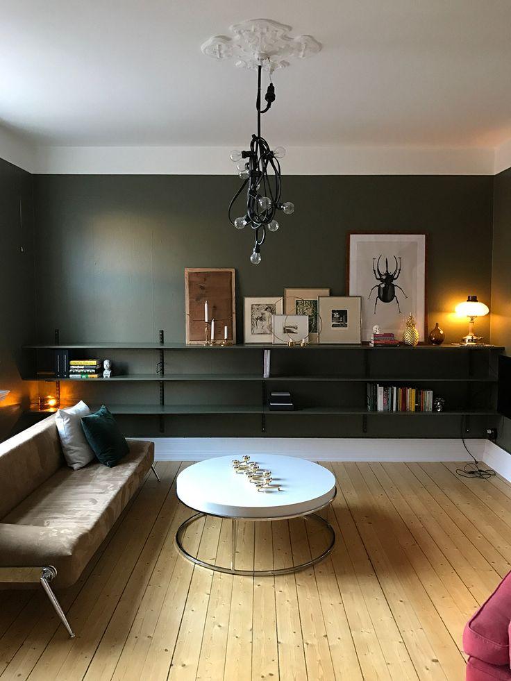 Norrgavel - Sparring - Living room - via www.brassandgold.com