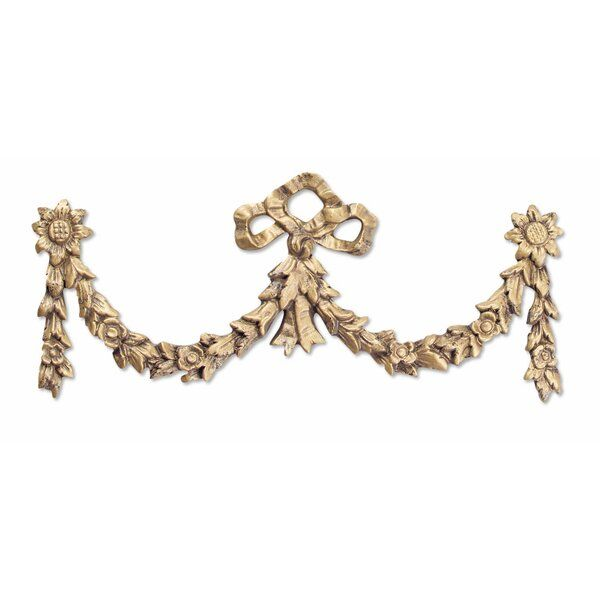 Bow Overdoor Wall Décor Crown Wall Decor Floral Swag Decorative Wall Plaques