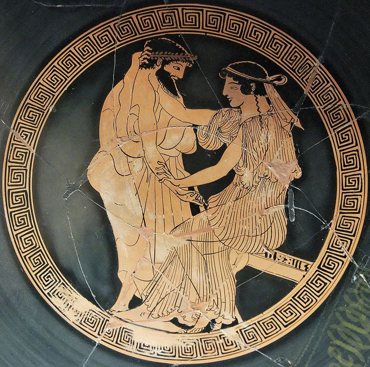 Tondo of an Ancient Greek Attic red-figure kylix ca. 480 BC from Vulci. & 129 best Arte Griego images on Pinterest | Ancient greece Greek art ...