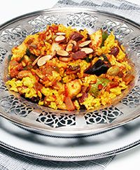 Indian Rice and Vegetable Casserole