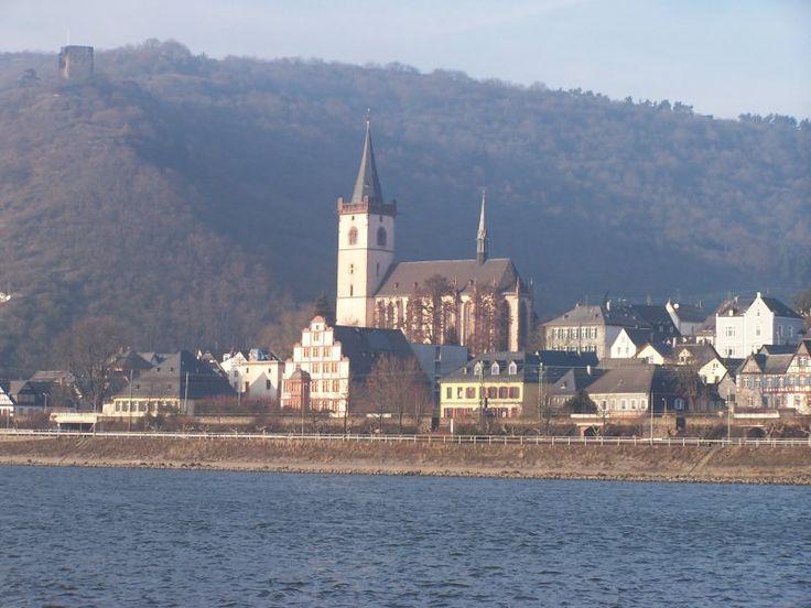 Leutesdorf im Rhein-Westerwald ist das größte Weinbaugebiet am unteren Mittelrhein