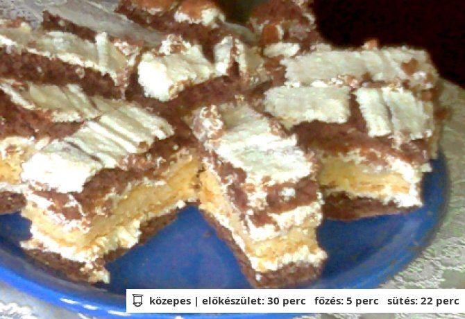 Réteges krémes süti