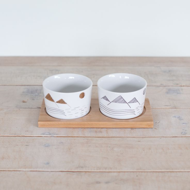Alpine DIp Bowls from George + Co Cermaics