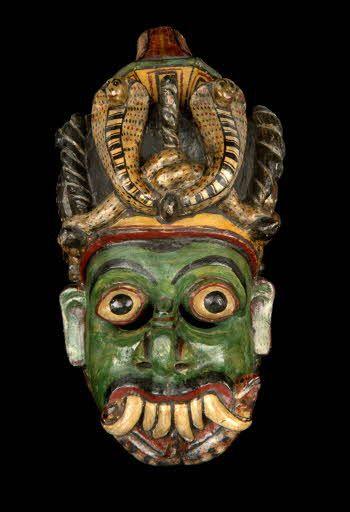 Masque d'exorcisme, roi des démons