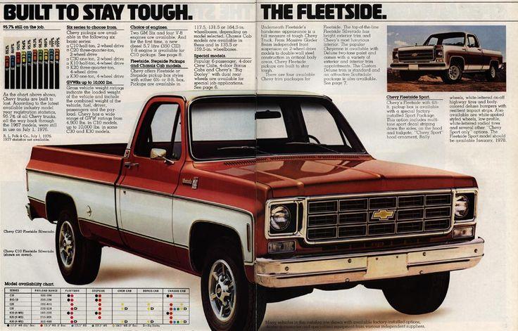 73 Through 79 C10 Curbside Classic 1978 Chevrolet