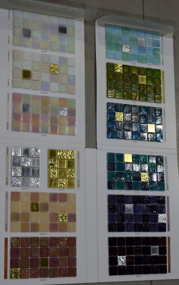 an elelgant glass mosaics from bisazza - Mosaic Tile House 2015
