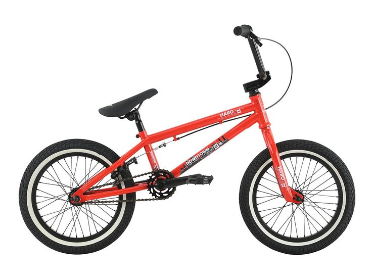 "Haro Bikes ""Downtown 16"" 2017 BMX Bike - 16 Inch | Gloss Red | kunstform BMX Shop & Mailorder - worldwide shipping"