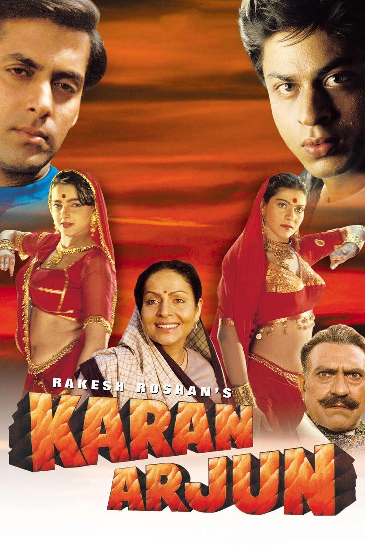 karan arjun 1995 shahrukh khan hindi movie posters