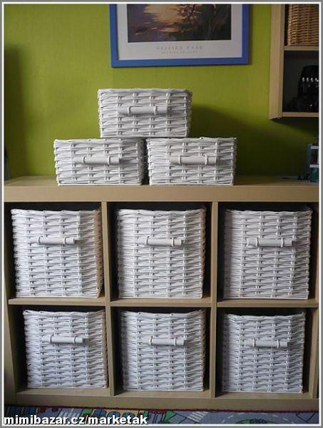 Прямоугольные корзины для белья из газет. Комментарии : LiveInternet - Российский Сервис Онлайн-Дневников