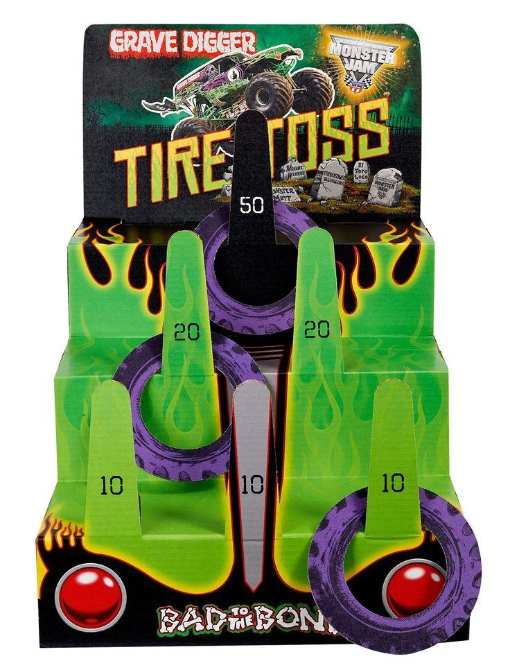 Monster Jam 3D Ring Toss Game, 87438