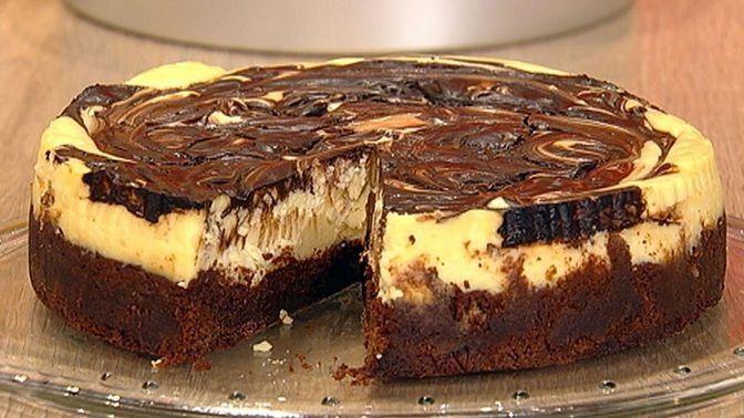 Brownie-Käsekuchen von Cynthia Barcomi