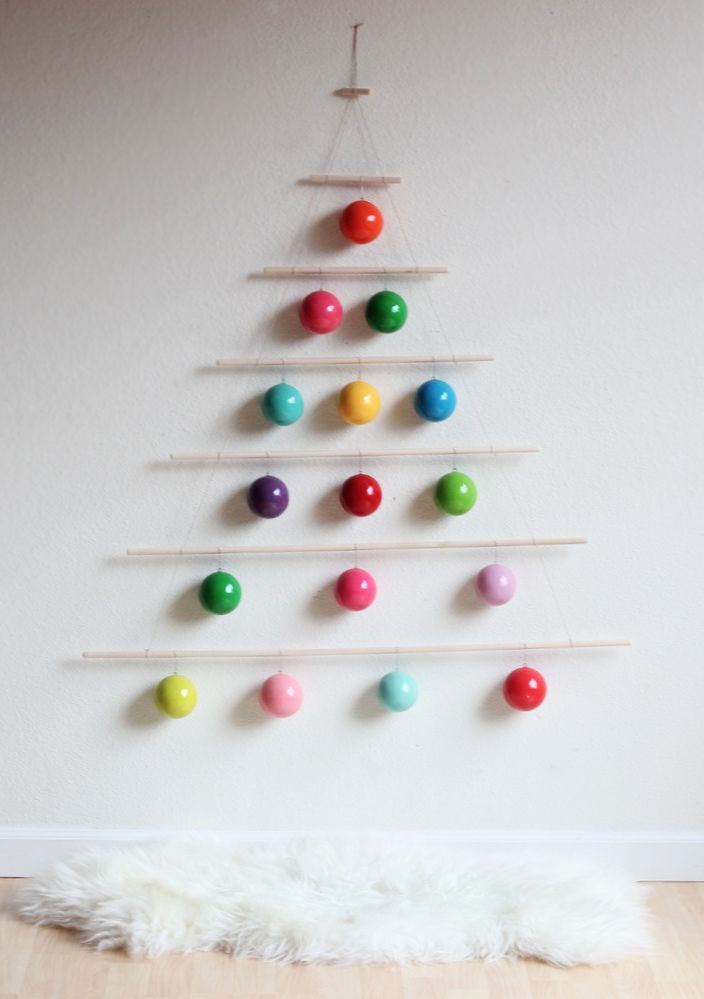 #diy modern holiday tree