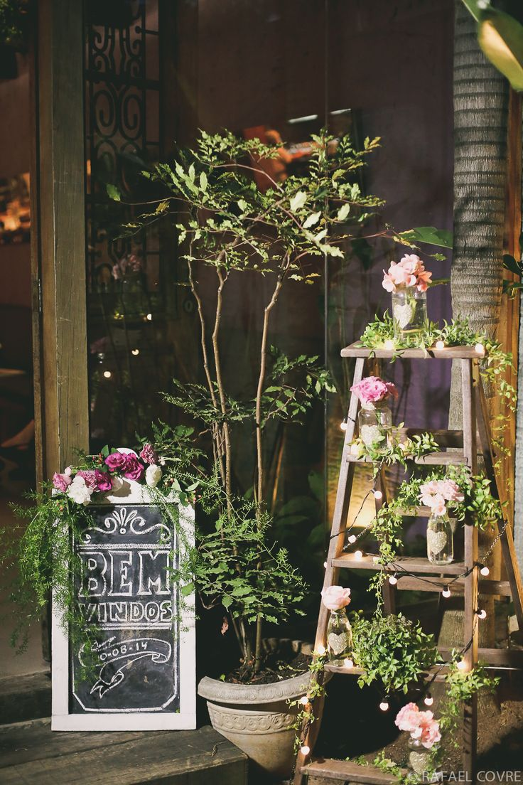 wedding pink and gold + shabby chic