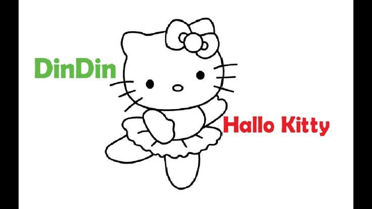 wie zeichnet man hallo kitty für kinder  malvorlagen für
