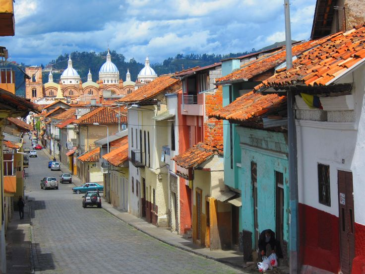 Cuenca, Ecuador- modern city with colonial charm deep in the heart of the Andes Mountains. www.elnomad.com