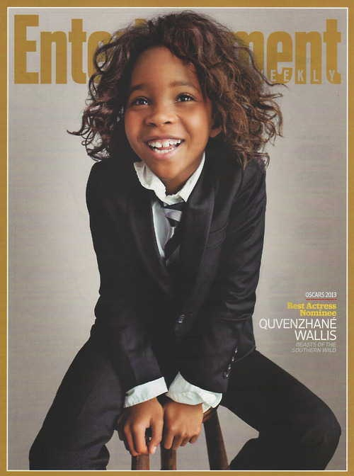 Youngest-ever Lead Actress Oscar nominee (and only 10th Black actress ever nominated in the category), Quvenzhané Wallis.