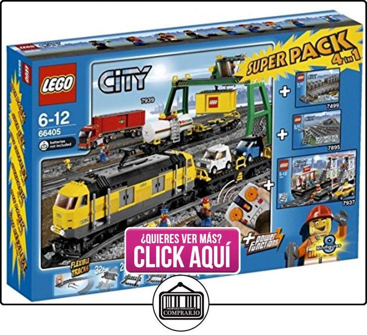LEGO 66405 City - Paquete especial de tren (juegos 7939, 7937, 7895 y 7499)  ✿ Lego - el surtido más amplio ✿ ▬► Ver oferta: https://comprar.io/goto/B005NV4CRI