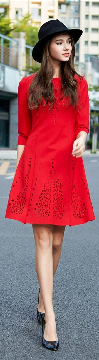 F love is a red dress 99