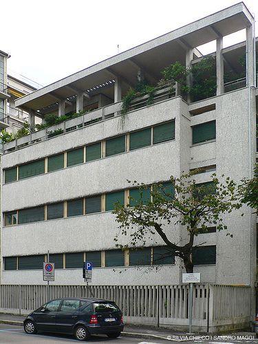 Giuseppe Terragni - Casa d'affitto Giuliani Frigerio 1939-1940    www.controluce.co
