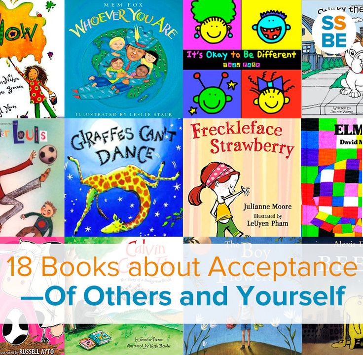 Looking for children's books about diversity? We're all different, from appearance to abilities to our backgrounds. Kids especially need to learn to accept and embrace our differences. These 18 picture books about acceptance show your kids how to accept and embrace our differences. #childrensbooks #acceptancematters