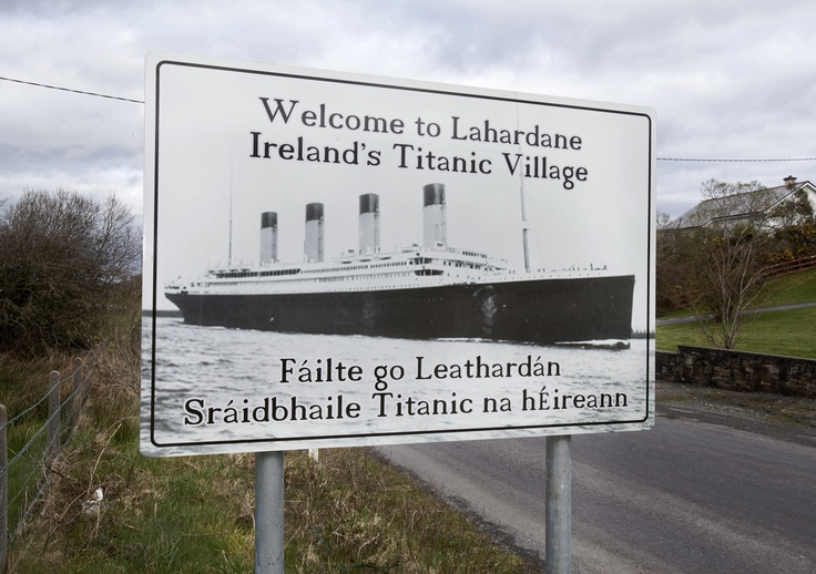 the addergoole fourteen remembered for titanic s Lost souls remembered in ireland's titanic village in county mayo the village of lahardane in county mayo on the west coast of ireland, from where a group of 14 emigrants travelled to join the rms titanic on her ill-fated maiden.