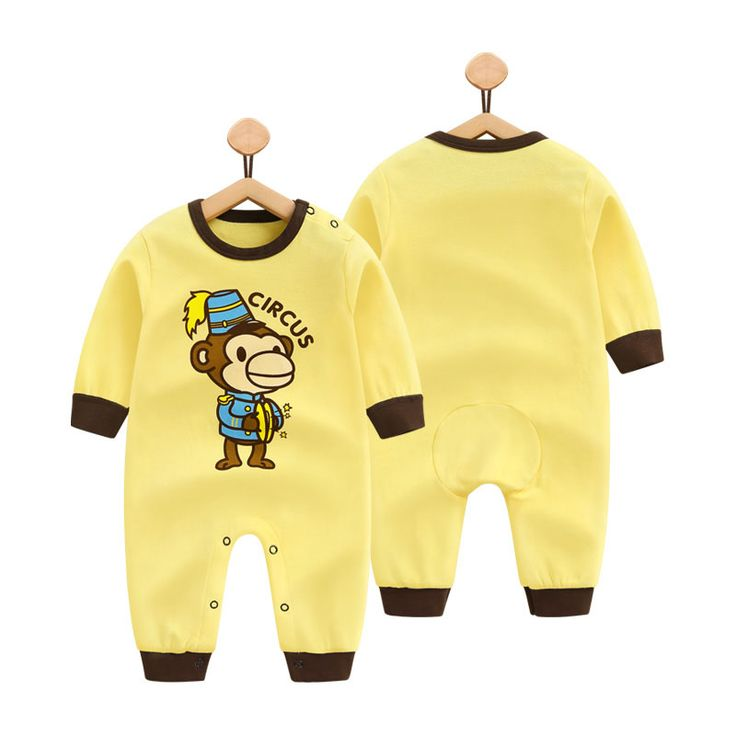 Cemigo Newborn Baby Rompers Long Sleeve Baby Girls Boys Clothing Jumpsuits cute printing Infant costume BR. Click visit to buy