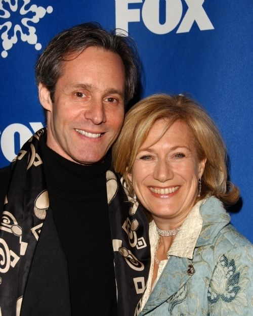Michel Gill and Jayne Atkinson married in 1998