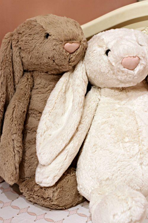 Jellycat Bashful Bunnies   #projectnursery #franklinandben #nursery