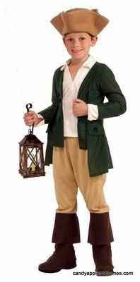Child's Paul Revere Colonial Costume