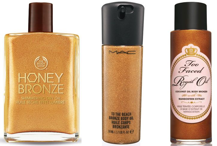 Come See the 4 Best Body Bronzers Based On Your Complexion and Skin Tone  MAC Cosmetics Temperature Rising Bronzing Oil, $22.50, maccosmetics.com