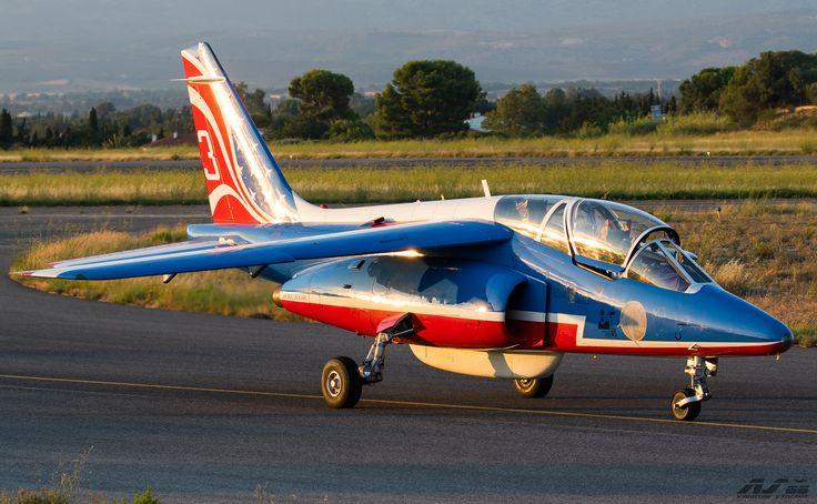 https://flic.kr/p/VVJDW9 | Dassault/Dornier Alpha Jet E - F-UGFE Patrouille de France | LFMP / PGF Perpignan Rivesaltes Airport