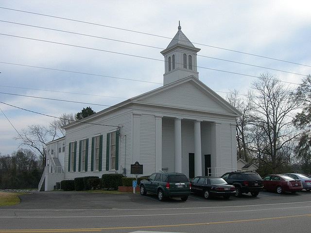 Robinson Springs Methodist Church in Milbrook, Alabama