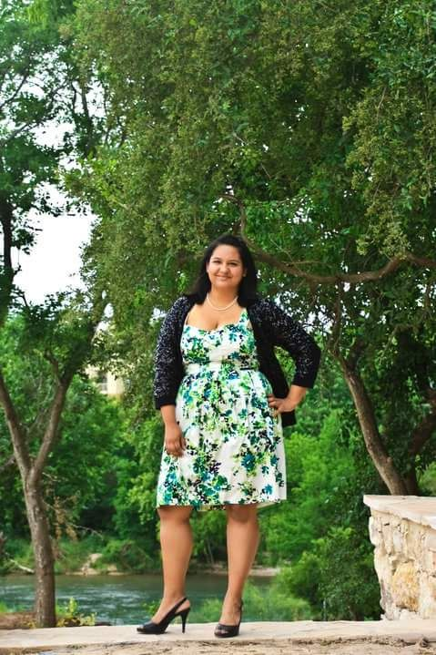 Last one! This was my senior photo's outfit. I was 18 here and...