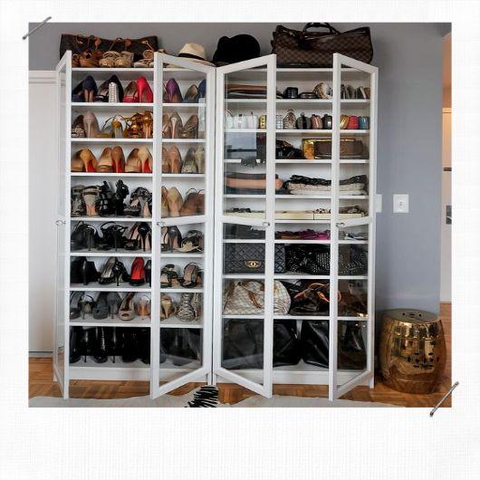12 idées pour ranger ses chaussures- MissZaStyle - Blog Déco   Rangement chaussures, Idee ...
