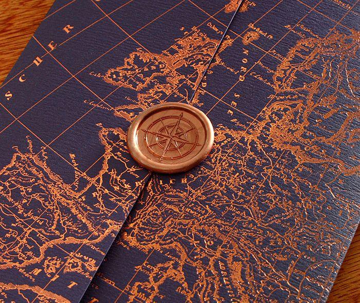 wax seals, invitation set, custom by invitations by ajalon