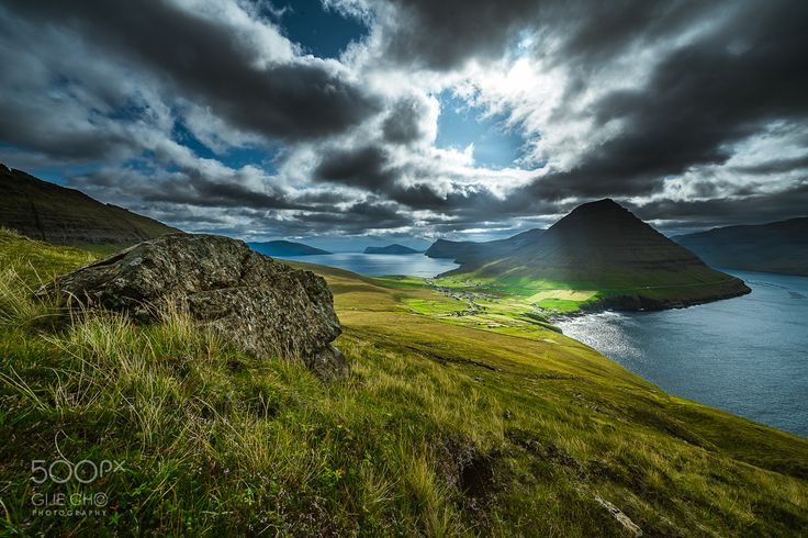 Vidareidi, Faroe islands - Vidareidi, Faroe islands